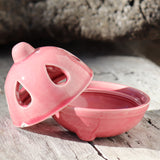 Ceramic Incense Holder - PINK