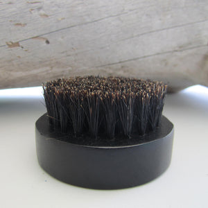 Sandalwood Men Beard Hair Brush - Black