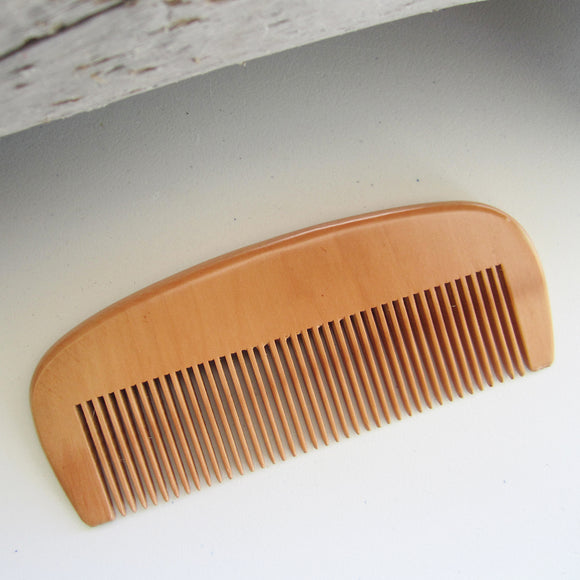 Sandalwood Men Beard Hair Comb - Brown