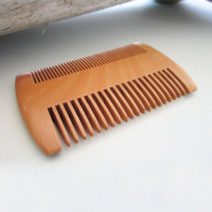 Sandalwood Men Beard Hair Comb - Brown 2