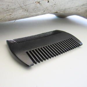 Sandalwood Men Beard Hair Comb - Black