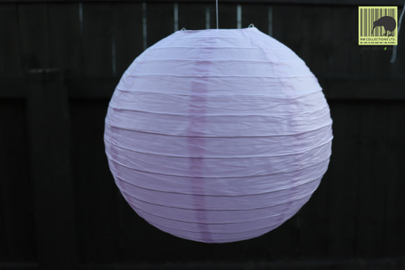 Christmas Decorative Paper Lanterns - Light Purple