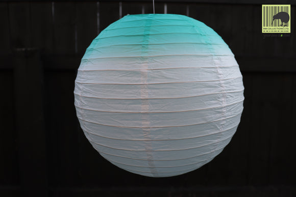 Christmas Decorative Paper Lanterns - Blend Blue