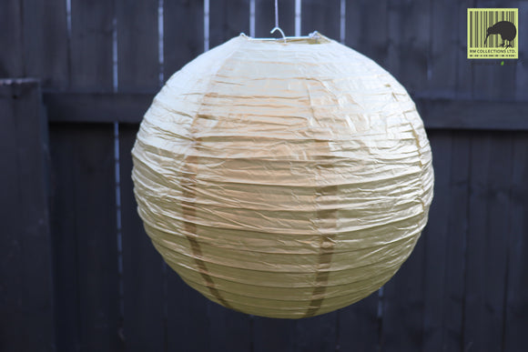 Christmas Decorative Paper Lanterns - Gold