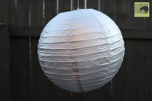 Christmas Decorative Paper Lanterns  - Grey