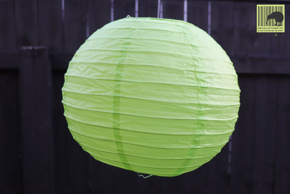 Christmas Decorative Paper Lanterns - Light Green