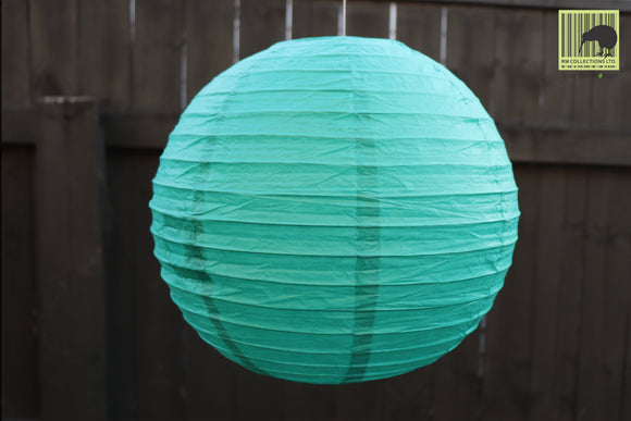 Christmas Decorative Paper Lanterns - (Bottle Green)