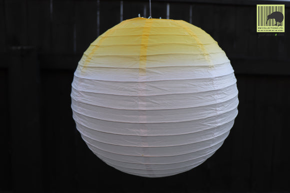 Christmas Decorative Paper Lanterns - Blend Yellow
