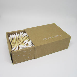 Bamboo Ear Buds - 200 sticks