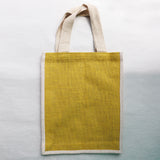 Jute Handbag - Yellow