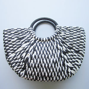 Stylish Handbag - Natural Straw