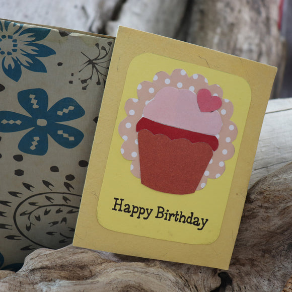 Handmade Birthday card - Happy Birthday greeting card