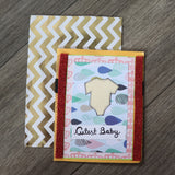Handmade Baby Shower card - Cutest Baby greeting card