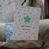 Handmade Celebrations Card - Well Done Greeting Card