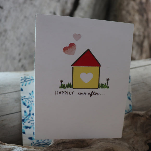 Handmade Celebrations Card - Happily Ever After Greeting Card