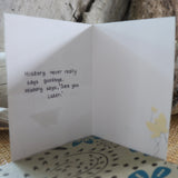 Handmade Corporate card - See You Later greeting card