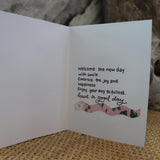 Handmade Expressions card - Good Day greeting card 7
