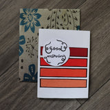 Handmade Expressions card - Good Morning greeting