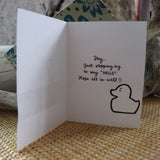 Handmade Expressions card - Hello greeting card 13