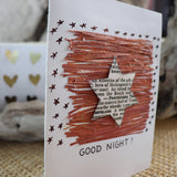 Handmade Expressions card - Good Night greeting card