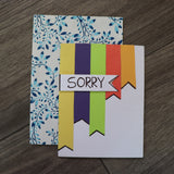 Handmade Expressions card - Good Luck greeting card 19