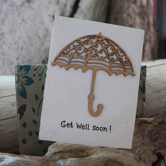 Handmade Expressions card - Get Well Soon greeting card 21