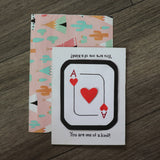 Handmade Feelings card - You Are One Of A Kind greeting card