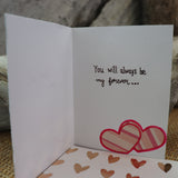 Handmade Feelings card - Lots And Lots Of Love greeting
