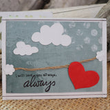 Handmade Feelings card - You Will Be Mine Always greeting card