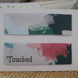 Handmade Feelings card - Touched greeting card
