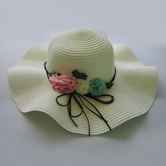 Sensational Straw Hats - White