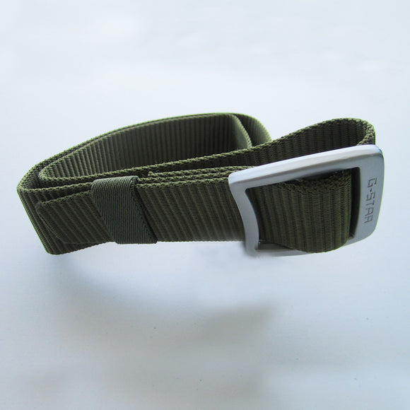 Raw Denim G-STAR Murky Green belt
