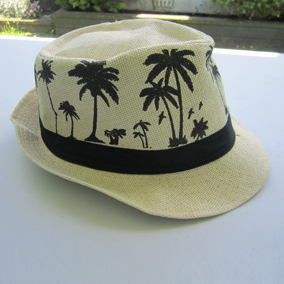 Men Sombrero Straw Hat - Beige
