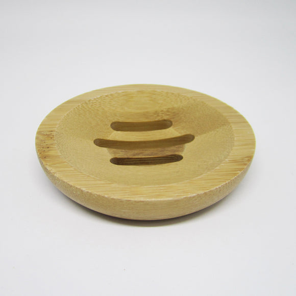 Bamboo Soap Tray - Round Shaped
