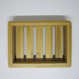 Natural Bamboo Soap Container