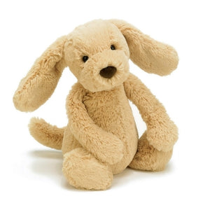 Hund fra Jellycat - BAS3TPUS - Bashful Toffee Puppy Medium.