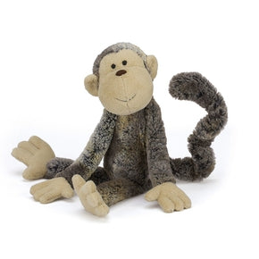 Abe fra Jellycat - MATM4MK Mattie Monkey Medium.