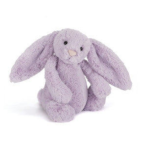 Kanin fra Jellycat - BAS3HY Medium Bashful Hyacinth Bunny.