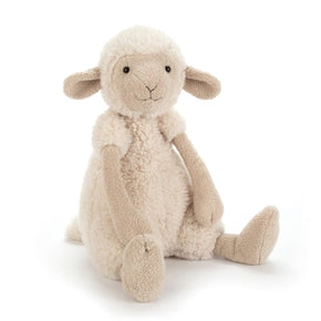 Får fra Jellycat - WOL2S Wooly Sheep Large.
