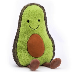 Avocado fra Jellycat - A1A - Amuseable Avocado Huge.