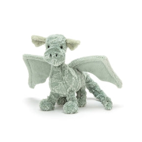 Drage fra Jellycat - D3D - Drake Dragon Little