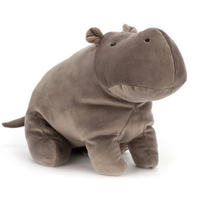Flodhest fra Jellycat - MM2HL - Mellow Mallow Hippo Large.