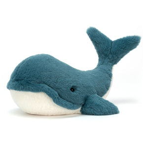 Hval fra Jellycat - WW2B - Wally Whale Large.