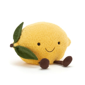 Amuseable Lemon fra Jellycat - A2L.