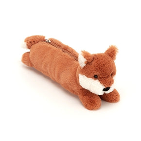 Penalhus fra Jellycat - BLB4L - Bashful Fox Long Bag.