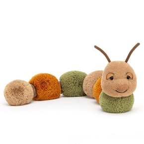 Kålorm fra Jellycat - FIG2CAT - Figgy Caterpillar.