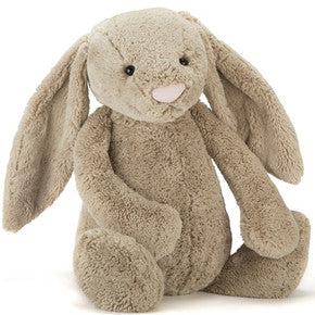 Kanin fra Jellycat - BARB1BB Really Big bashful Beige Bunny.