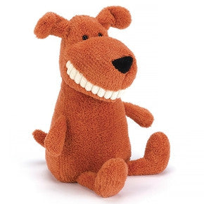 Hund fra Jellycat - TO3MT Toothy Mutt.