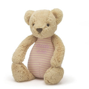 Bamse fra Jellycat - LOB4P pink little one bear