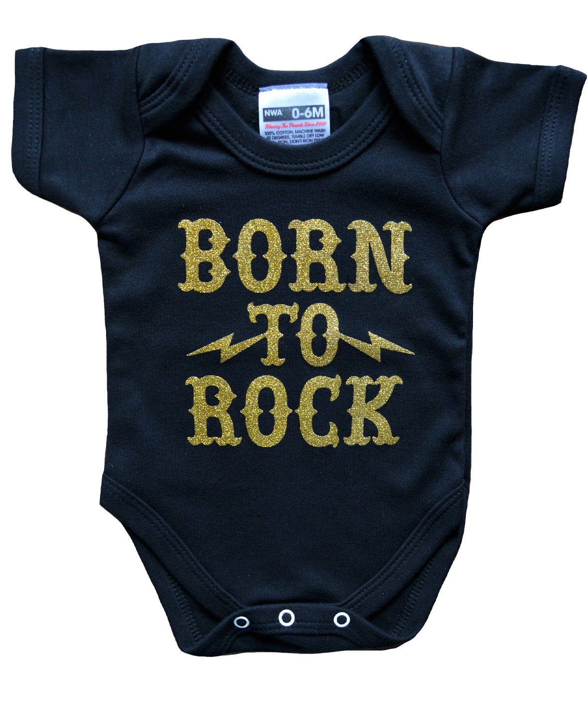 BORN TO ROCK BABYGROW